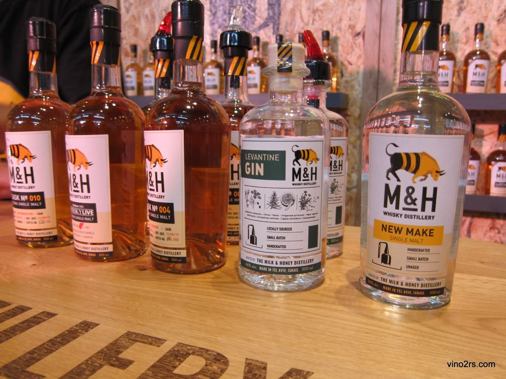 Продукция M&H Distillery
