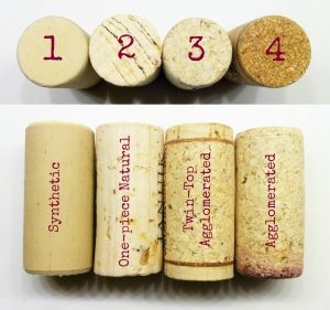 kinds of corks