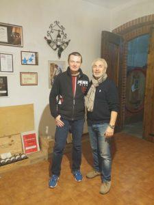 Gabrielle Ochetti and Meir