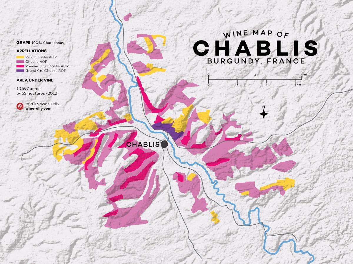 Chablis, винные термины
