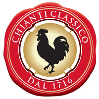 Символ консорциума Chianti Classico - черный петух, gallo nero