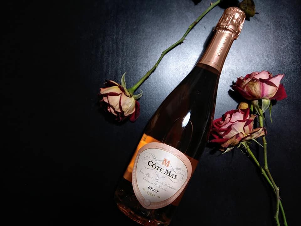 Rose 2020, Cote Mas Crémant de Limoux Brut Rosé