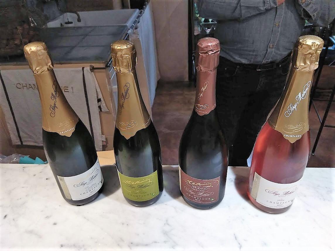 шампанский дом Серж Матьё